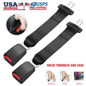 15 Universal Car Auto Seat Seatbelt Safety Belt Extender Extension 7 8 Buckle
