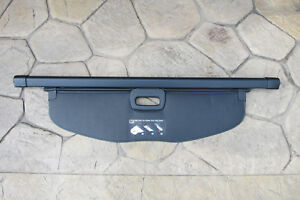 11 16 Jeep Grand Cherokee Black Retractable Rear Cargo Security Shade Cover