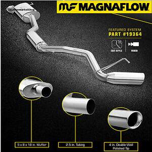 Magnaflow 2 5 Cat Back Single Exhaust System 2017 2018 Honda Ridgeline 3 5l V6