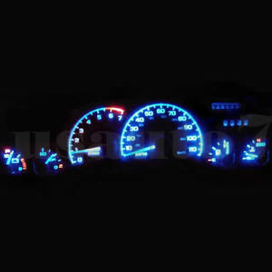 Dash Cluster Gauge Aqua Blue Led Light Bulbs Kit Fits 93 96 Chevy Camaro 4th Gen