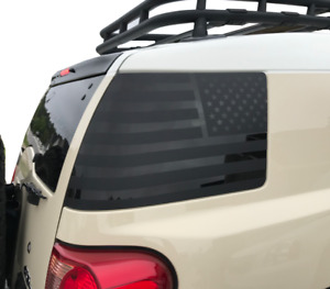 Usa Flag Decals For Rear Windows Of Toyota Fj Cruiser Vinyl Decal Sticker Ht1