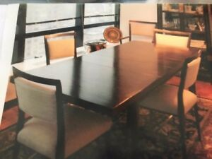 Mahogany Dining Table And Chairs Paul Mccobb Modern Dining Table