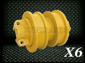 International 175c Double Flange Roller X6 Replacement Crawler Loader New