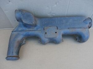 Ford Model A H 2 Piece Exhaust Manifold W Heater Interior Oem Used Part