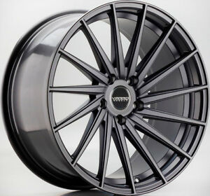 20 Varro Vd15 Satin Black Wheels For Mercedes W218 Cls400 Cls550 Cls63