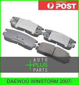 Fits Daewoo Winstorm 2007 Brake Pads Disc Brake front Brakes Set