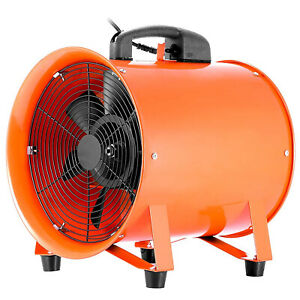 12 Utility Blower 12 Inch 0 7hp 2295 Cfm 3300 Rpm Portable Fan Ventilator 0 7hp