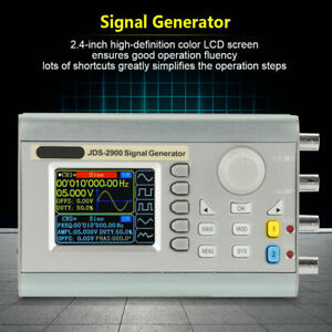 New Jds2600 60mhz Dual Channel Function Arbitrary Waveform Dds Signal Generator
