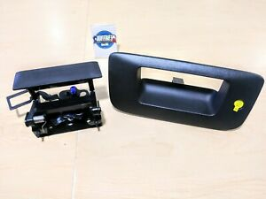 Accessory Locking Tailgate Handle 07 14 Chevrolet Silverado Gmc Sierra 22755305