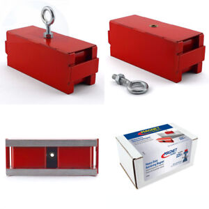 Master Magnetics Heavy Duty Magnet Retrieving Magnet With Eyebolt And Nut
