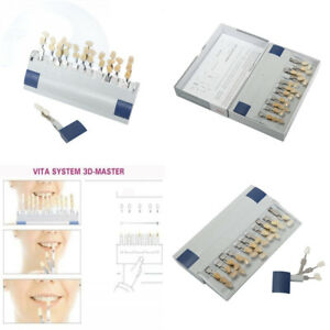 Zeta Dental Teeth Whitening Shade Guide Professional Vita 3d master Style Tooth