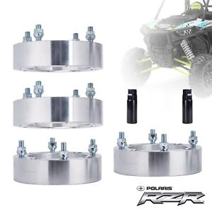 4 Pcs Wheel Spacers 2 Thick Fit Rzr High Performance S 900 1000 2015 Up