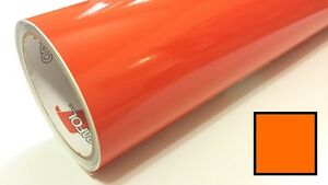 Glossy Orange Oracal 651 24 X 30 Ft Roll Vinyl For Craft Cutters And Vinyl Sign