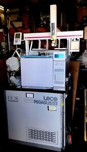 Hp Agilent 6890n Series Gas Chromatograph Gc Fid With Leco Pegasus Iii Tof