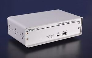 Aeroflex Uas Scsi To Usb Adapter x2 Ports Rs232 Debug W All Accessories