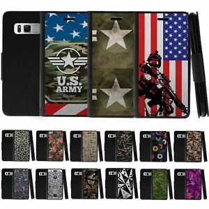 For Samsung Galaxy Note 8 N950 Leather Flip Wallet Case w Card Slots Holder