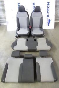 2017 Volkswagen Jetta Mk6 Interior Seat Seats Set Front Rear Cloth Two Tone Oem