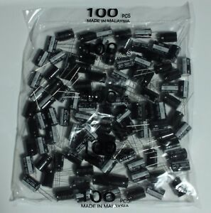 450v 10uf Nichicon Aluminum Electrolytic Capacitors Lot Of 2 3 4 5 6 8 10 20 Pcs