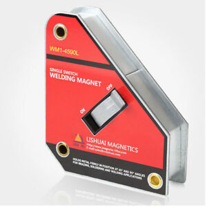 143lb Lift Magnetic Welding Jig On off Switch 45 90deg Magnet Holder Welder