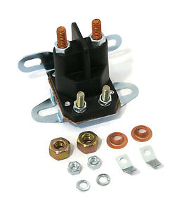 Relay Solenoid Universal 4 Post For Western Fisher Meyers Snowplows Snow Plow
