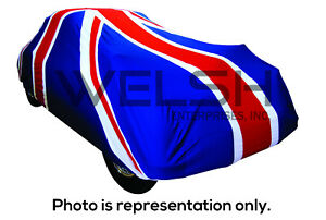 Union Jack Indoor Car Cover Large Land Rover Jaguar Vauxhall Lotus