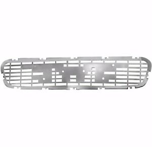 1955 Gmc Truck Center Hood Ornament Grille 2nd Series Chrome Metal Dynacorn