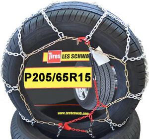 Chains P205 65r15 205 65 15 205 65 15 Les Schwab Tire Snow