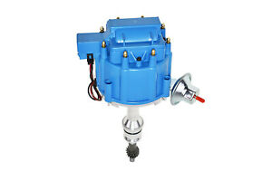 Sbf Ford Small Block 351w Windsor Hei Ignition Blue Cap Distributor 65k Coil