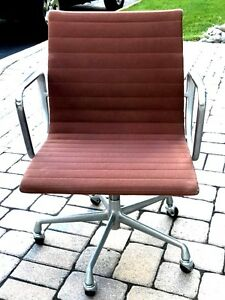 Herman Miller Eames Aluminum Group Chairs Year 1987