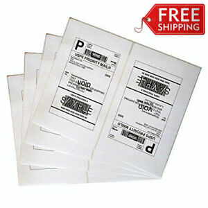 Immuson Shipping Labels 8 5 X 11 Inches Easy To Peel Address Labels 2 Labels