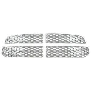 Chrome Snap On Overlay Grille Covers Trim Inserts For 2013 2019 Dodge Ram 1500