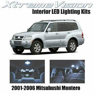 Xtremevision Led For Mitsubishi Montero 2001 2006 10 Pieces Cool White Premium