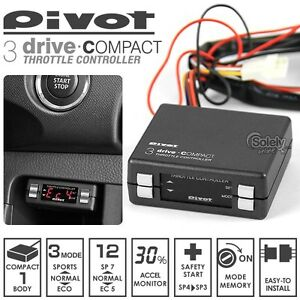 Honda Accord civic Cr v fit odyssey 09 Pivot 3 Drive Compact Throttle Controller
