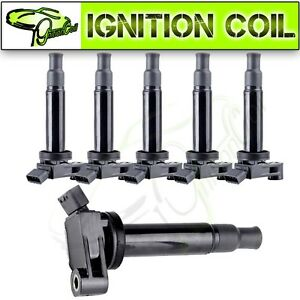 6pcs Ignition Coil For Lexus Es300 Rx300 Toyota Avalon Sienna Camry 3 0l Uf267
