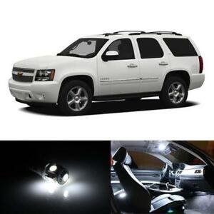 18x Hid White Interior Led Lights Package Kit Fits 2007 2012 Chevy Tahoe New