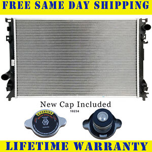 Radiator With Cap For Chry Dodge Fits 300 Charger Magnum 2 7 3 5 5 7 6 1 2766wc