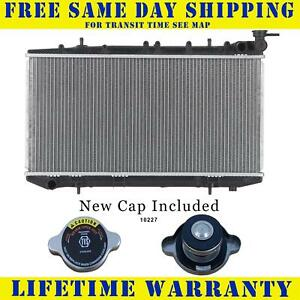 Radiator With Cap For Nissan Fits Sentra 200sx Nx 1 6 2 0 Manual Only 1152wc