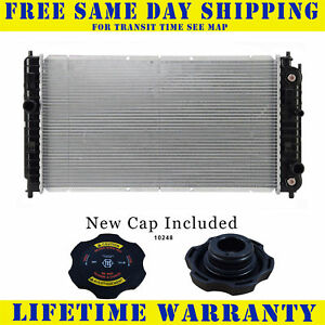 Radiator With Cap For Chevy Pontiac Olds Fits Malibu Cutlass Grand Am 2264wc