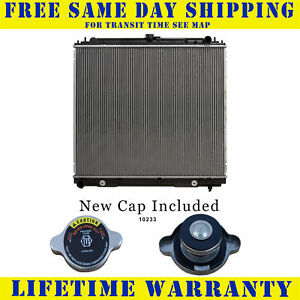 Radiator With Cap For Nissan Fits Frontier Pathfinder Xterra 4 0 5 6 2807wc