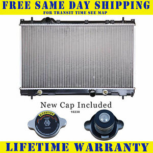 Radiator With Cap For Dodge Chry Fits Neon 2 0 4 Speed Transmission 2362wc