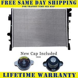 Radiator With Cap For Dodge Fits Journey 2 4 3 5 L4 4cyl V6 6cyl 13084wc
