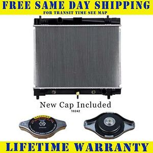 Radiator With Cap For Scion Toyota Fits Xd Yaris 1 5 1 8 L4 4cyl 2890wc