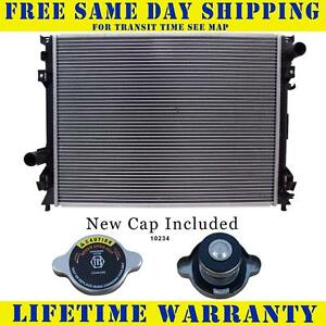 Radiator With Cap For Chrysler Dodge Fits 300 Magnum Charger 2767wc