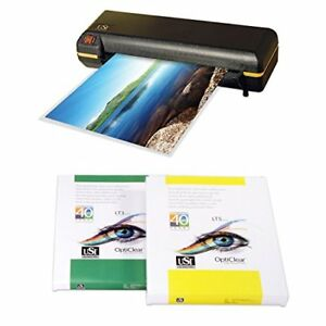 Ct1200 Pouch Laminator Kit Laminator Boxes Of 3 Mil 5 Mil Letter Pouches