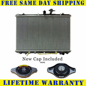 Radiator With Cap For Toyota Fits Highlander 3 5 V6 6cyl 13024wc