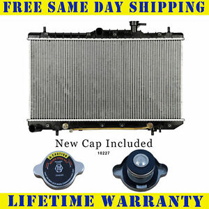 Radiator With Cap For Hyundai Fits Accent 1 5 1 6 L4 4cyl 2338wc