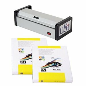 Usi Hd1200 12 Pouch Laminator Kit Laminator Boxes Of Letter Legal Pouches