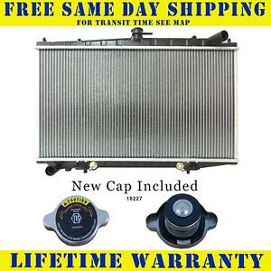 Radiator With Cap For Nissan Fits Altima 2 4 L4 4cyl 1573wc