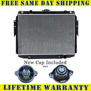 Radiator With Cap For Dodge Plymouth Fits B250 Pb350 1707wc