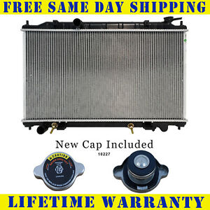 Radiator With Cap For Nissan Fits Altima 2 5 L4 4cyl 2414wc